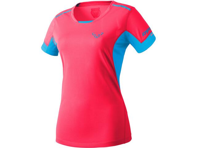 Dynafit Vert 2 Kurzarm T-Shirt Damen fluo pink